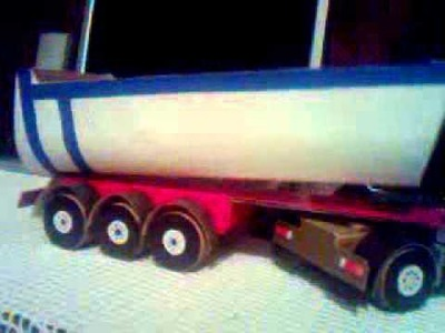 Truck toy of paper(what we can made of paper?)
