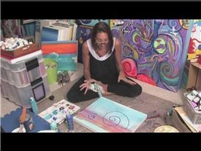 Acrylic Painting Tips : Acrylic Abstract Painting Techniques