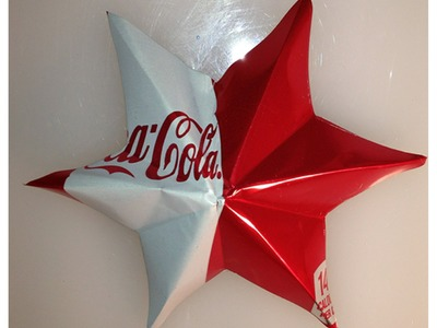 Aluminum Can Ornament Star By The Crafty Ninja