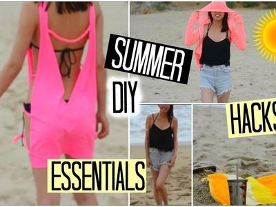BEACH: DIY, Essentials, Hacks & Tips!