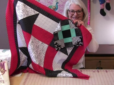 """""""Churn It Up a Notch"""" Quilted Table Topper"""