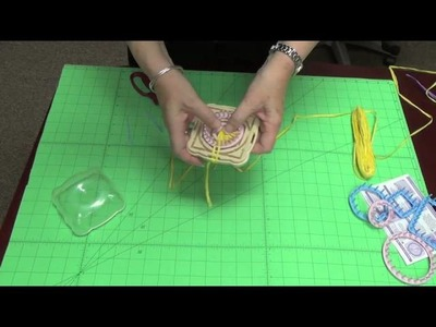 Creating a Quarter Flower on the Hana Ami Loom (Part 4 of 4 )