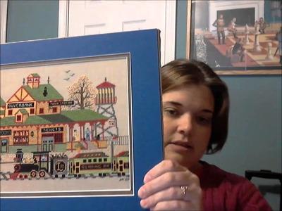 Cross Stitch Video #19:  Framing Cross Stitch PART 2 OF 2