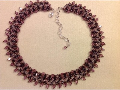 Crystal Elegance Necklace Tutorial