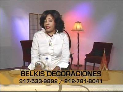 Decorando con Belkis, decoracion de Velones