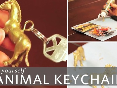 DIY Animal Keychain