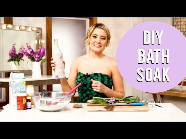 DIY Beauty | Bath Soak to Wash Away Stress | Beauty How To