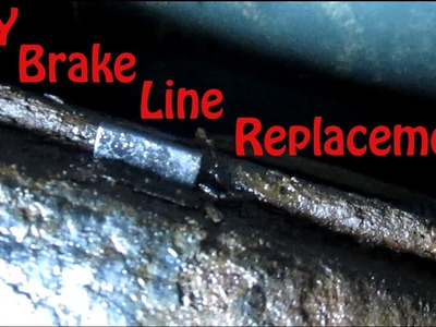 DIY Blazer Brake Line Replacement - How to Replace Rusted Brake Lines on GMC Jimmy Chevy Blazer S10