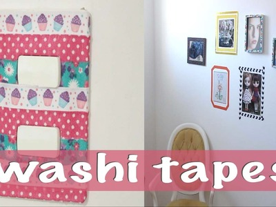 DIY: CRIE E DECORE COM WASHI TAPES IMPROVISADAS