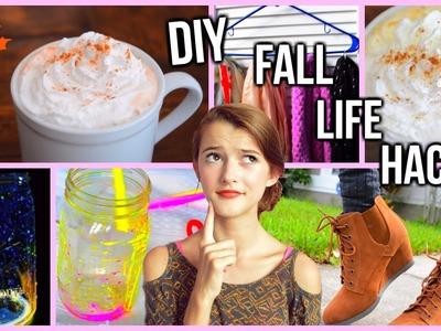 DIY Fall Life Hacks! ♡ 2015!