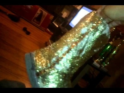 DIY Glitter UGGS