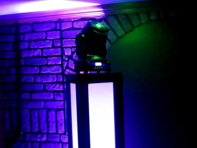 DIY Home Made Led Moving Head Totem.Tower