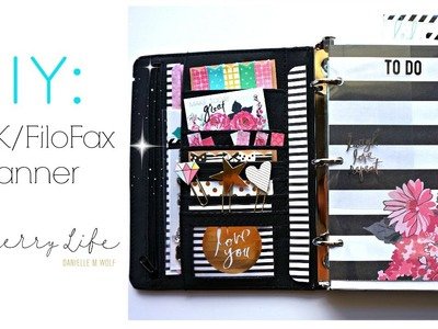 DIY Kikki K Planner with Heidi Swapp Memory Planner Supplies