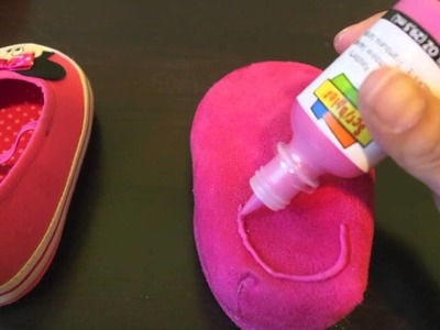 DIY Non Slip baby shoes