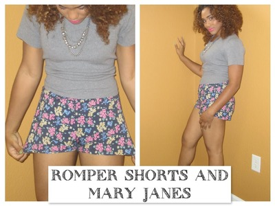 DIY + STYLING SECRETS | Romper & Mary Janes