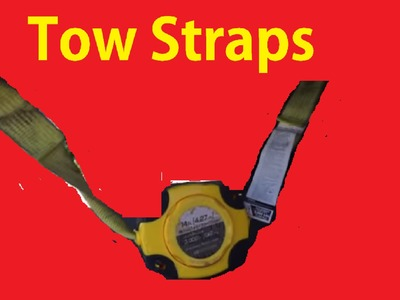 DIY Tow Strap Hookup Pull Cars How to Hook Up Car Tow