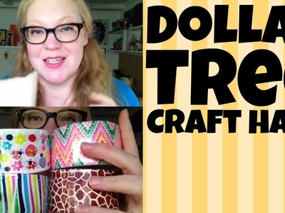 Dollar Tree Crafts Haul 3.25.2015