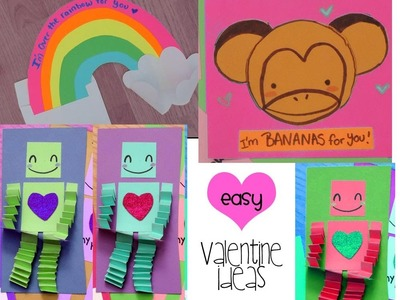 EASY & CUTE Valentine Card Ideas 1 of 2