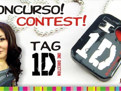 (ENDING contest)  (concurso CERRADO) TAG One Direction & Tutorial. Tag de One Direction y Tutorial