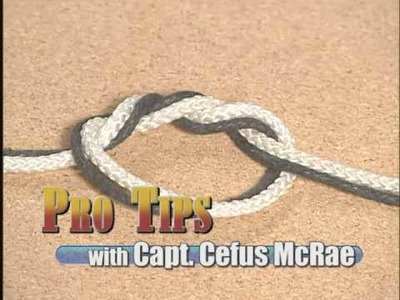 Fishing Knot - Surgeon's Knot - Nuts & Bolts Pro Tip