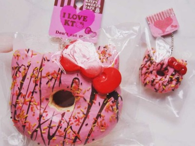 Hello Kitty Donut Squishy Replica