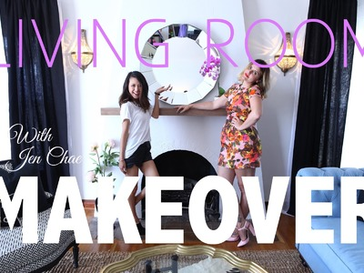 Home Makeover {Living Room} with Jen Chae {From Head to Toe}
