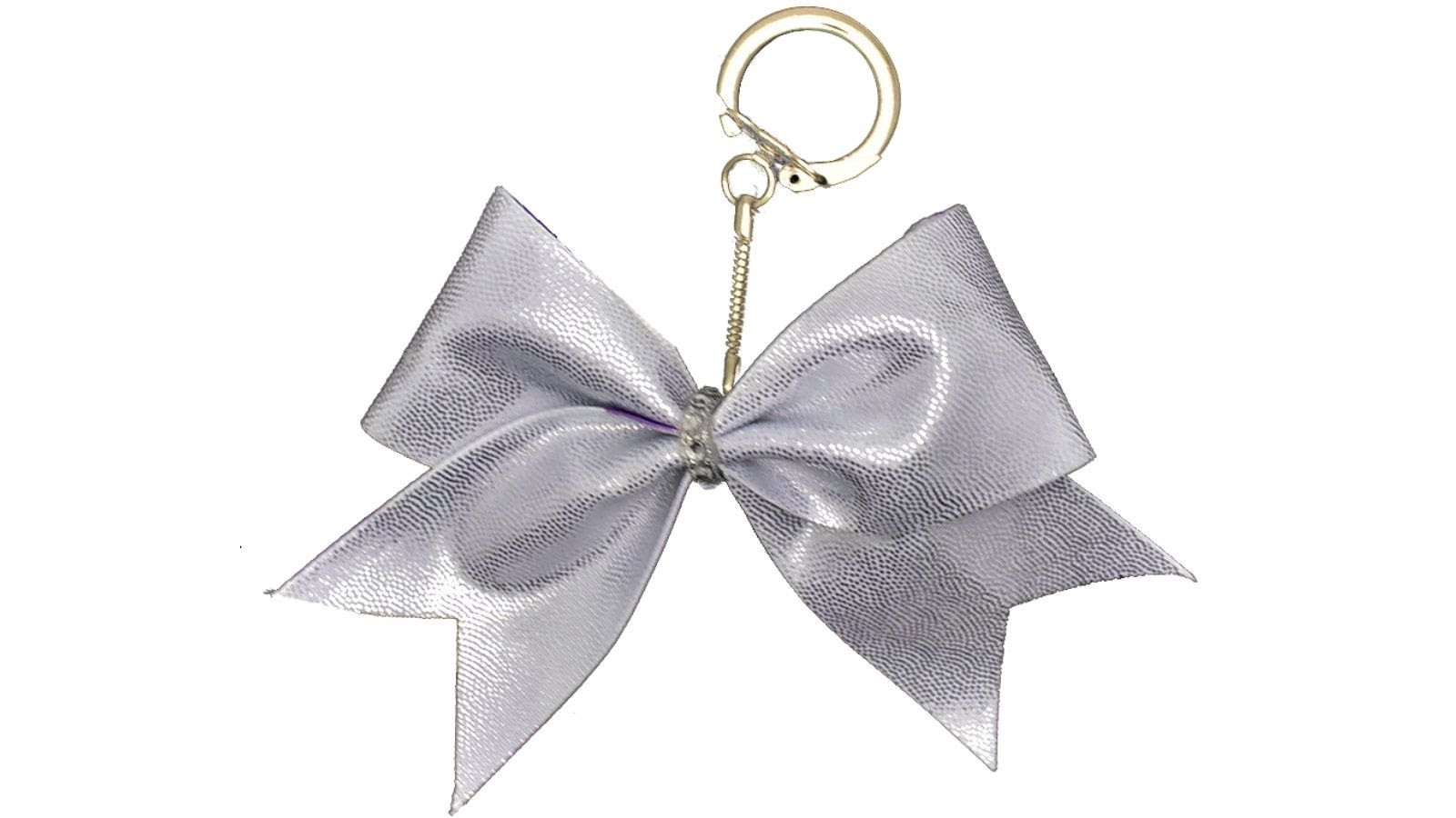 How To Make A Mini Cheer Bow Keychain