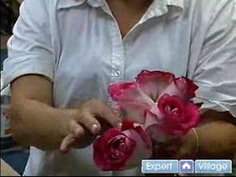 How to Make Wedding Bouquets & Corsages : Pulling the Dead Petals from a Wedding Bouquet