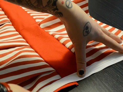 How to sew a Candy Cane LaLa Dress