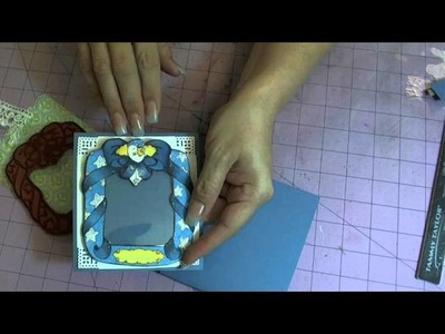 Justafew -  Quickie Easel Card Tutorial