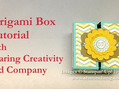 Kirigami Box with Sharing Creativity and Company