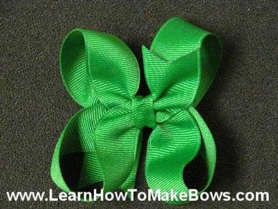 Learn How to Make Girls Hair Bows - First Lesson Free!