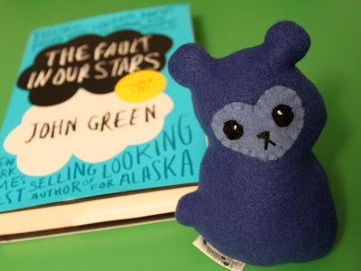 Making a plushie - Bluie from TFIOS