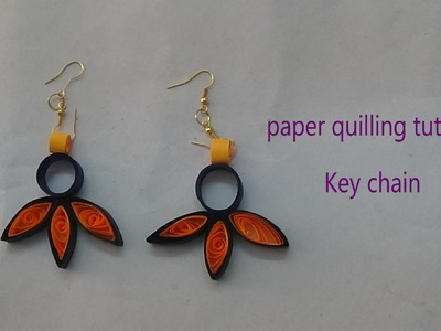 Paper earrings making