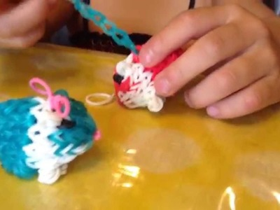 Play with Guiniea Pig rainbow loom Ori, Cookie Monster, Elmo, Arbie, and  Sesame Street Cooking