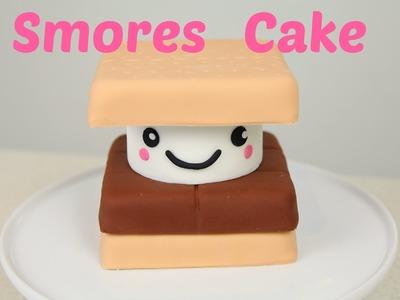 S'mores Kawaii Cake - CAKE STYLE