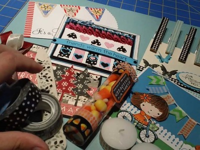 S.O.S. Moment #5 - What to do with all that Washi Tape!