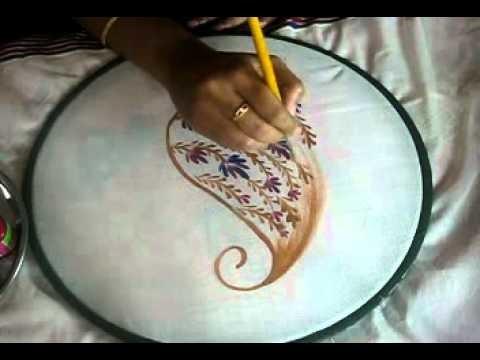 Sameeka's free hand painting