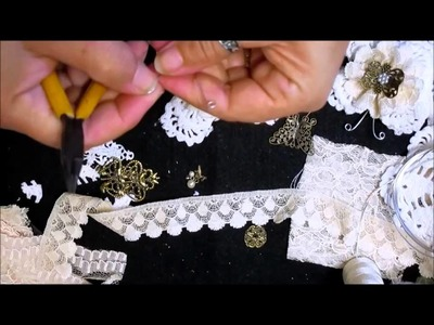 Shabby Chic Doily Butterfly Tutorial - jennings644
