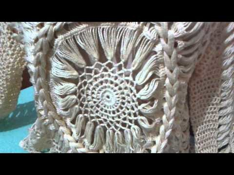 Túnica Mandala, video explicativo (Crochê Pai D'égua)