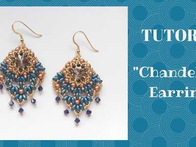 "Tutorial perline: orecchini ""Chandelier""