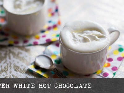 Winter White Hot Chocolate - COFFEE BREAK SERIES - HoneysuckleCatering