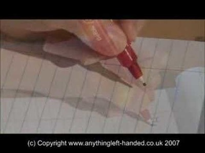 Writing Left Handed