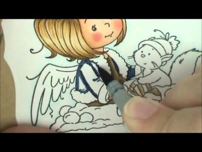 Angelica Copic Coloring Card Kit
