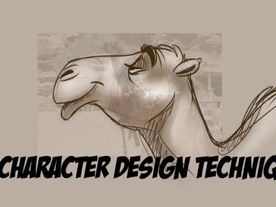 Cartoon Character Design Tutorial : EASY Technique!