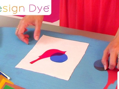 Design Dye - Paper that Dyes Fabric, Wood and More