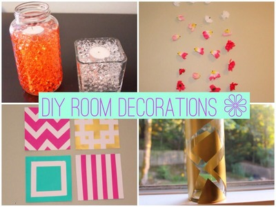 DIY Affordable and Adorable Room Decor!