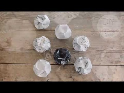DIY: Christmas ornaments by Søstrene Grene