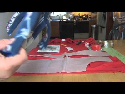 DIY Compression Shirt (Thunder Shirt) Part I