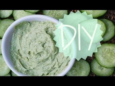 DIY Cucumber Mask: Hydrating & Anti-aging!